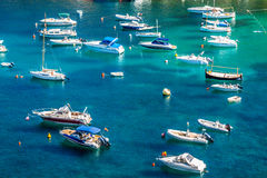 Ibiza Cala de Sant Vicent AUGUST  20, 2013: caleta de san vicent Royalty Free Stock Photography