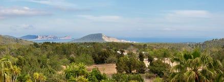 Ibiza, Cala Jondal panorama Royalty Free Stock Photo