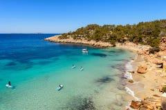 Ibiza Cala Saladeta Imagen de archivo