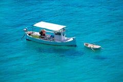 Ibiza caleta de Sant Vicent cala San vicente san Juan Stock Images