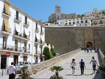 Ibiza Castle royalty free stock images