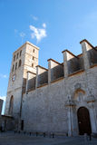 Ibiza cathedral Stock Photography