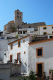 Ibiza cathedral Royalty Free Stock Image
