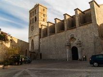 Ibiza Cathedral Stock Photography