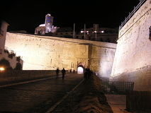 Ibiza ściana w abril Fotografia Stock