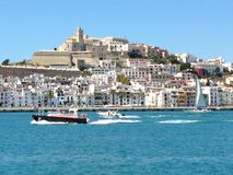 Ibiza city Spain Stock Photo