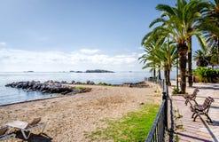 Ibiza coast Stock Image
