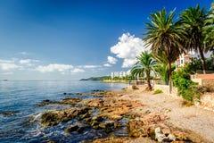 Ibiza coast Royalty Free Stock Images