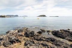 Ibiza coastline Stock Photography