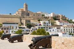 Ibiza Dalt Vila Foto de archivo libre de regalías