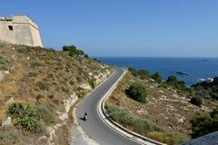 Ibiza dalt vila Stock Image