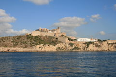 Ibiza Dalt Vila imagem de stock royalty free