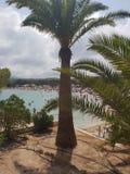 Ibiza del verano de la playa del cielo de Sun Fotografía de archivo libre de regalías