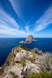 Ibiza Es Vedra and Vedranell from Torre des Savinar Royalty Free Stock Image