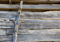 Ibiza formentera aged weathered wooden wall Royalty Free Stock Photos