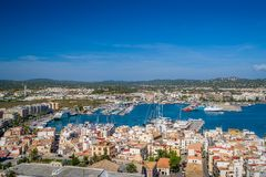 Ibiza harbor Royalty Free Stock Images