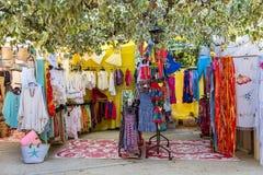 Ibiza, il mercato di hippy immagini stock libere da diritti