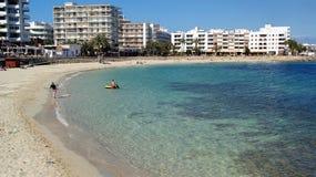 Ibiza, isla mediterránea en España Foto de archivo libre de regalías