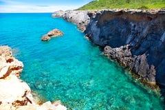 Ibiza island Canal d en Marti Pou des Lleo beach Royalty Free Stock Image