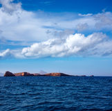Ibiza Islas bledas Beldes islands with lighthouse Royalty Free Stock Images