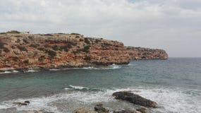 Ibiza-Küste stockfotografie