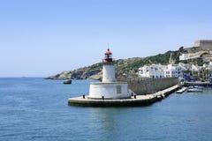 Ibiza landmark island in Mediterranean sea Royalty Free Stock Photo