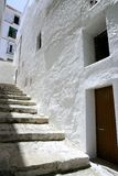 Ibiza Mediterranean island architecture houses Stock Photography
