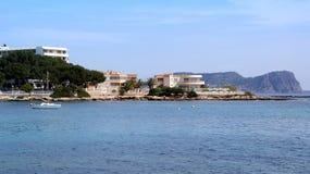 Ibiza, Mediterranean island in Spain Royalty Free Stock Images
