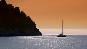 Ibiza, Mediterranean island in Spain Royalty Free Stock Photo