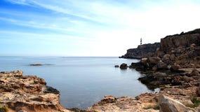 Ibiza, Mediterranean island in Spain Royalty Free Stock Image
