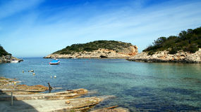 Ibiza, Mediterranean island in Spain Royalty Free Stock Photos