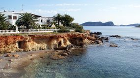 Ibiza, Mediterranean island in Spain Royalty Free Stock Photography