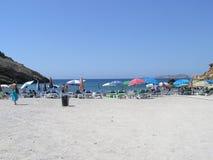 ibiza na plaży Obrazy Royalty Free