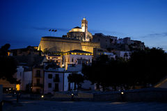 Ibiza in night Stock Images