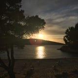 Ibiza odbija Fotografia Royalty Free