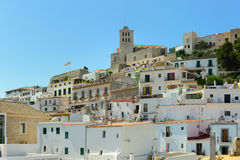Ibiza old town area Royalty Free Stock Image