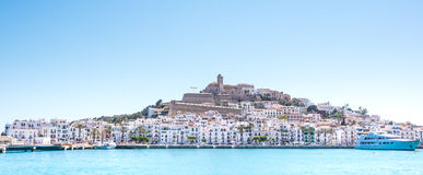 Ibiza panorama Royalty Free Stock Images