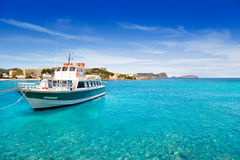 Ibiza Patja des Canar beach with turquoise water Stock Photo