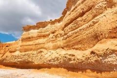 Ibiza, praia do Sa Caleta foto de stock royalty free