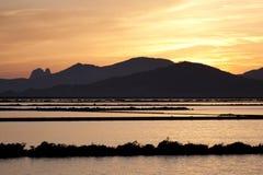 Ibiza saltworks Royaltyfri Bild