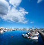 Ibiza san Antonio Abad de Portmany marina port Royalty Free Stock Photo