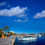 Ibiza san Antonio Abad de Portmany marina port Stock Photography