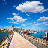 Ibiza San Antonio Abad Sant Antoni de Portmany Royalty Free Stock Photography