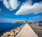Ibiza San Antonio Abad Sant Antoni de Portmany Stock Image