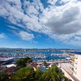 Ibiza San Antonio Abad Sant Antoni de Portmany Royalty Free Stock Images