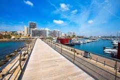 Ibiza San Antonio Abad Sant Antoni de Portmany. In Balearic Islands stock photo
