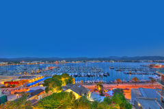 Ibiza San Antonio Abad Sant Antoni Portmany sunset Royalty Free Stock Photos