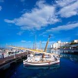 Ibiza San Antonio Abad Sant Antonio de Portmany marina Stock Image