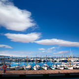 Ibiza San Antonio Abad Sant Antonio de Portmany marina Stock Photos