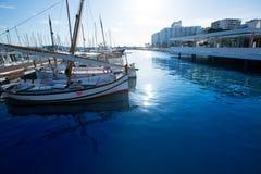 Ibiza San Antonio Abad Sant Antonio de Portmany marina Royalty Free Stock Photo